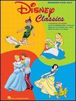 Disney Classics - Beginning Piano Solo Songbook