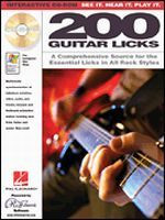 200 Guitar Licks CD-ROM