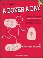 A Dozen A Day - Book 3 Book/CD Pack