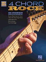 4 Chord Rock Easy Guitar with Notes & Tab