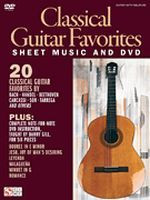 Classical Guitar Favorites Sheet Music and DVD
