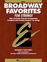 Essential Elements Broadway Favorites for Strings - Violin