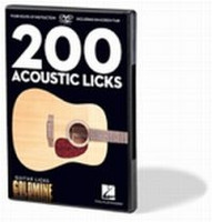 200 Acoustic Licks Guitar Licks Goldmine DVD