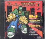 L.A. Riot Vol. 1 Sampling CD - Limited Quantity