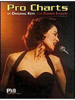 Pro Charts in Original Keys for Female Singers - Medium High Voi