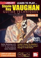 Learn to Play Stevie Ray Vaughan Guitar Techniques, Vol. 2 DVD