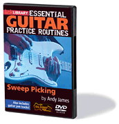Essential Guitar Practice Routines: Sweep Picking DVD