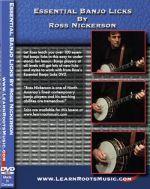 Essential Banjo Licks by Ross Nickerson