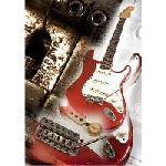 Vintage Guitar Poster 1: 1963 Fender Stratocaster