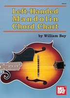 Left-Handed Mandolin Chord Chart