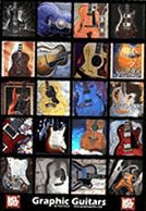 Graphic Guitars Poster
