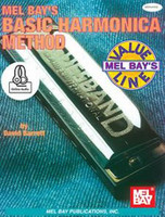 Mel Bay's Basic Harmonica Method - Book + Online Audio