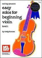 Easy Solos for Beginning Violin