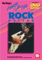 Anyone Can Play Rock Guitar DVD