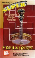 Super Bluegrass Banjo Picking Techniques DVD