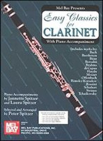 Easy Classics for Clarinet with Piano Accompaniment