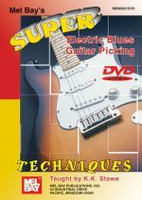 Super Electric Blues Guitar Picking Techniques DVD