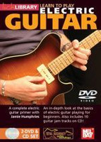 Learn to Play Electric Guitar DVD/CD Set