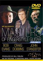 Masters of Fingerstyle Guitar, Volume 1 DVD