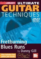 Ultimate Guitar Techniques: Fretburning Blues Runs DVD