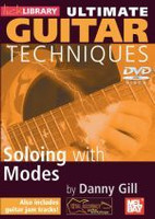 Ultimate Guitar Techniques: Soloing with Modes DVD