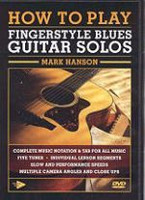 How to Play Fingerstyle Blues Guitar Solos DVD