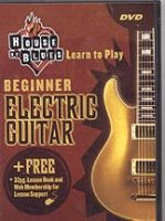 House of Blues - Beginner Electric Guitar DVD