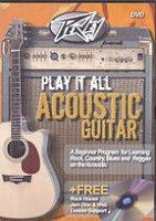 Peavey Presents Play It All On Acoustic Guitar DVD