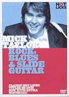 Mick Taylor: Rock, Blues & Slide Guitar DVD