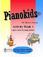 Pianokids® Activity Book Level 3