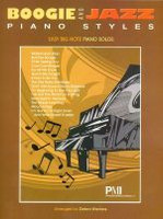 Boogie and Jazz Piano Styles - Easy Big Note Piano Solos