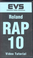 Roland RAP-10 Instructional VHS VIDEO