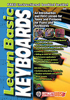 Learn Basic Keyboard - Ultimate Beginner Series Junior DVD