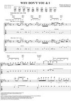 Why Don't You and I - Santana - Original Sheet Music
