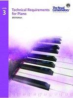 Technical Requirements for Piano Level 3 TRP03