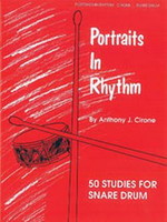 Portraits in Rhythm - 50 Studies for Snare Drum