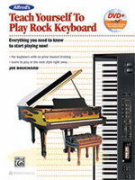 Alfred's Teach Yourself to Play Rock Keyboard - Book & DVD