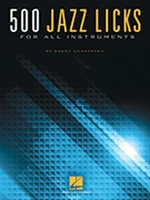 500 Jazz Licks - For All Instruments