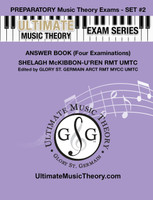 Ultimate Music Theory - Preparatory Exam Set #2 Answers