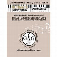 Ultimate Music Theory - Advanced Exams Set #1