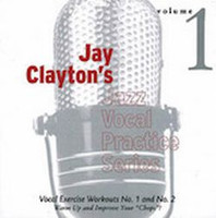 Jay Clayton's Jazz Vocal Practice Series, Volume 1 CD