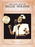 The Very Best of Billie Holiday - Piano/Vocal/Guitar Songbook