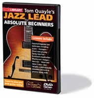 Tom Quayle's Jazz Lead for Absolute Beginners DVD