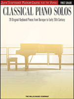 Classical Piano Solos - First Grade - John Thompson's Modern Course