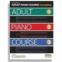 Adult Piano Course Complete with CD