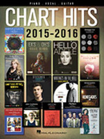 Chart Hits of 2015-2016 - Piano/Vocal/Guitar Songbook