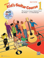 Alfred's Kid's Guitar Course 1 - Book, DVD & Online Audio, Video & Software