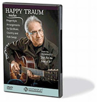 Happy Traum Teaches Fingerstyle Arrangements for Six Blues, Country and Folk Songs
