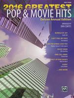 2016 Greatest Pop & Movie Hits - Easy Piano