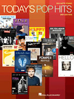 Today's Pop Hits for Big-Note Piano - Third Edition